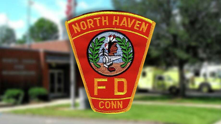 File photo of a North Haven Fire Department badge. Photo: Contributed Photo / North Haven Fire Department