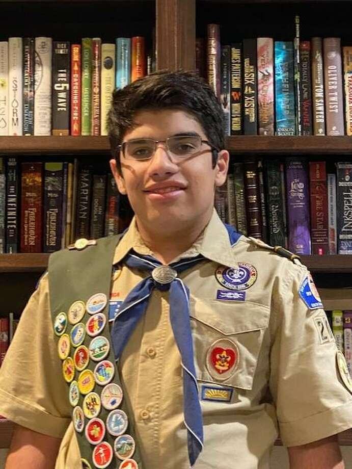 """J.J. Ramos recibió recientemente el rango de """"Eagle Scout"""" de la organización Boy Scouts of America. Photo: Foto De Cortesía"""