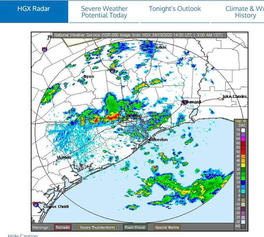 A tornado watch has been issued by theNational Weather Servicefor many counties surrounding the Houston-area until 3 p.m.: Photo: NWS