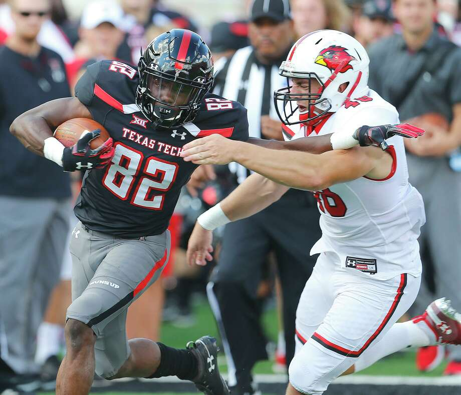 The Woodlands alum KeSean Carter is hoping for a breakout junior season with Texas Tech Photo: Wade H Clay