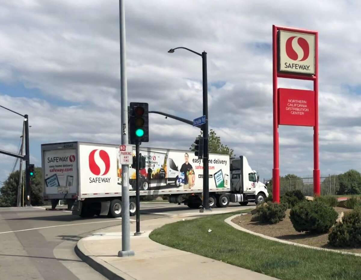 A Safeway distribution center in Tracy experienced an outbreak in April. California does not require public disclosure of such incidents.