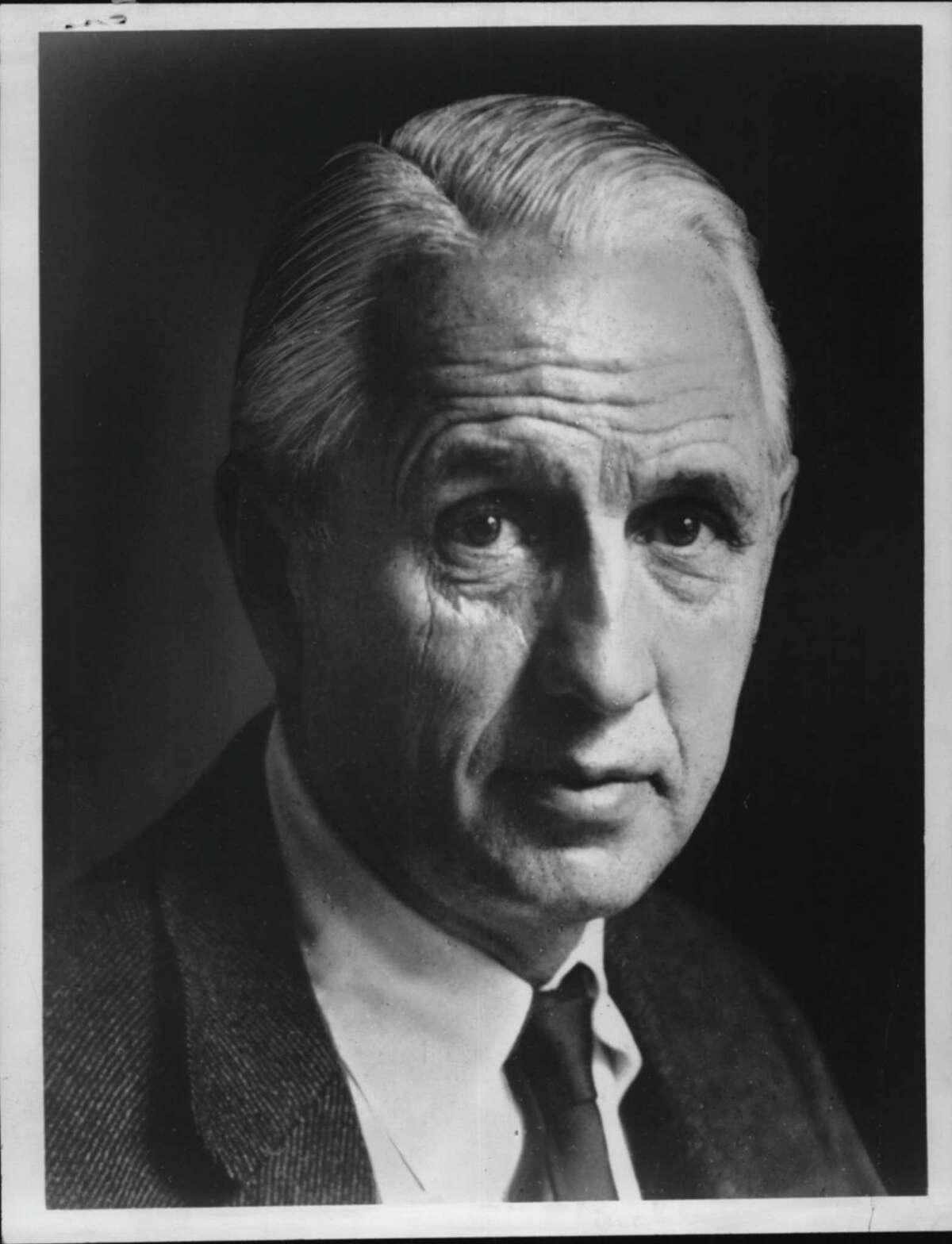 Dr. Everett R. Clinchy, New York. March 14, 1972 (Times Union Archive)