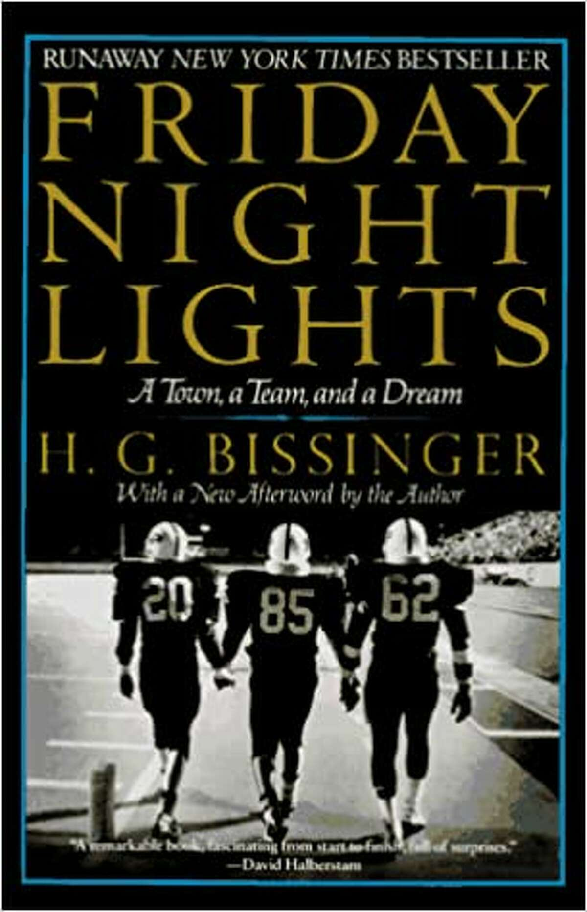 Friday Night Lights: A Town, a Team, and a Dream: Based on the series of the same name, it chronicles the true story of the Odessa, Texas, Panthers. The high school football team, to this day, has the best winning record in Texas history. You can read it on Amazon for less than $10 or watch it on Netflix.