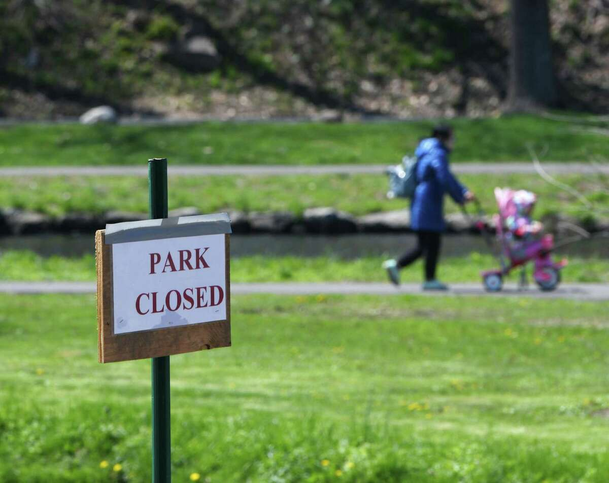 Binney Park will allow people to walk through as long as they do not congregate. Playgrounds and playing fields, as well as beaches, will continue to be closed.