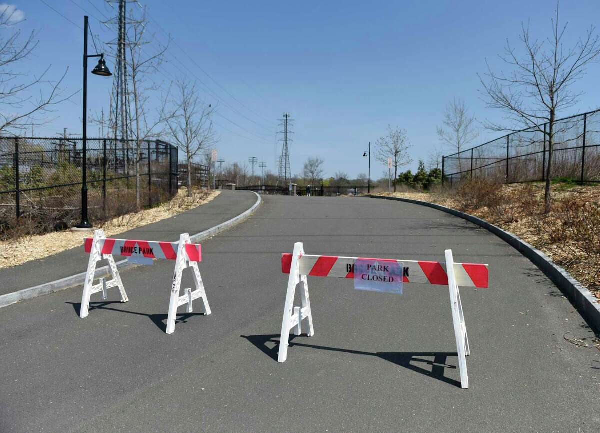 The entrance barricades at Cos Cob Park will be gone to allow some use for walkers but people must continue to practice physical distancing.
