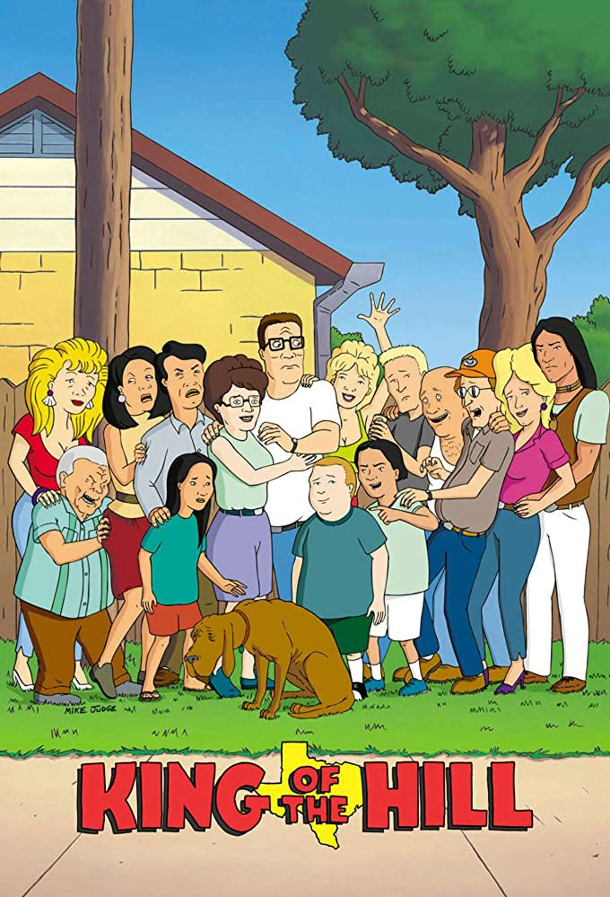 King Of The Hill: That's right, the life and times of father and friend Frank Hill is apparently a pretty accurate description of Texas, even though it takes place in the fictional town of Arlen. It's available on Hulu if you have a subscription.