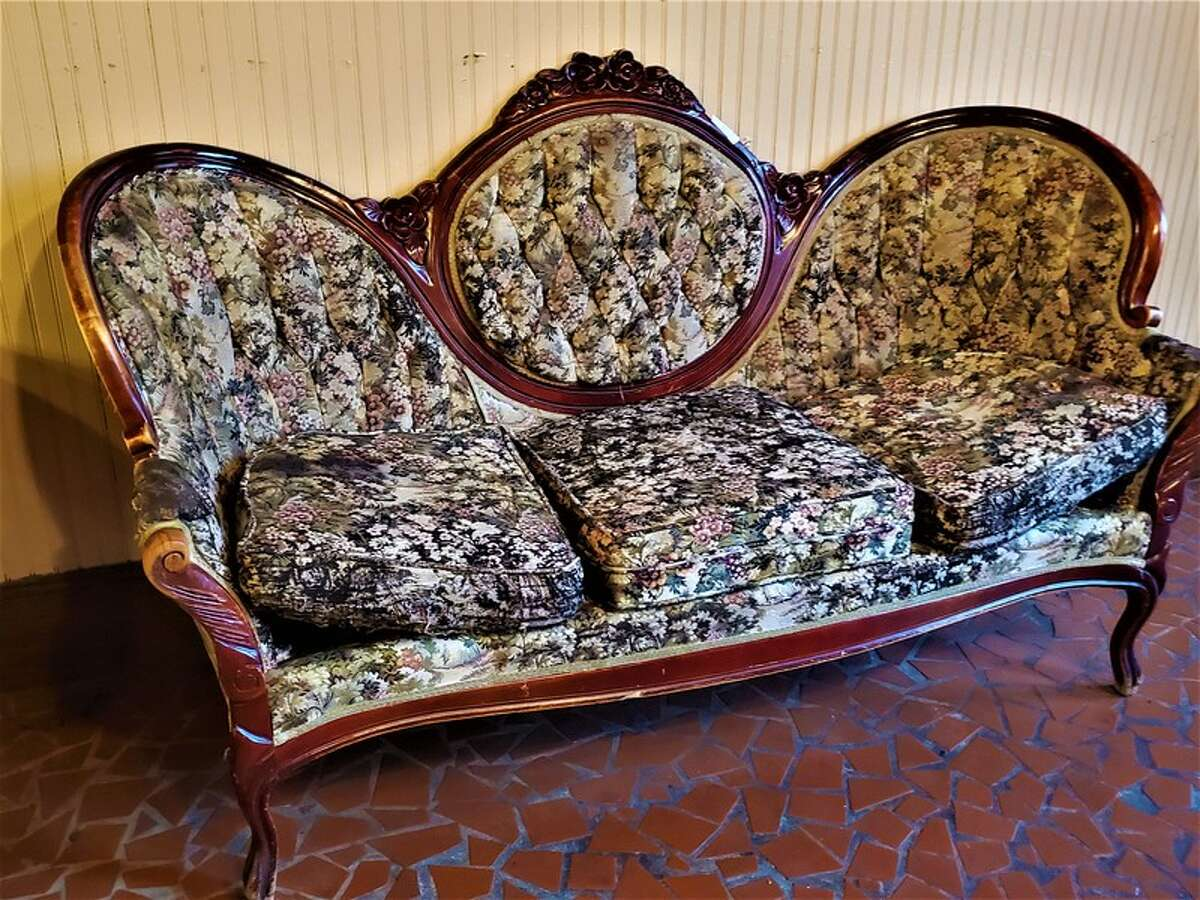"""A complete liquidation of Spaghetti Warehouse's furniture, decorative antiques, kitchen equipment and dishes is underway online. The sale, hosted by RCI Online Auctions, includes 10 pages of items up for bid. Of the more than 450 items, there's an antique parlor stove, old cash registers, Tiffany-style lamps, waiting area sofas and a 1900 sideboard which """"appears haunted,"""" the listing says."""