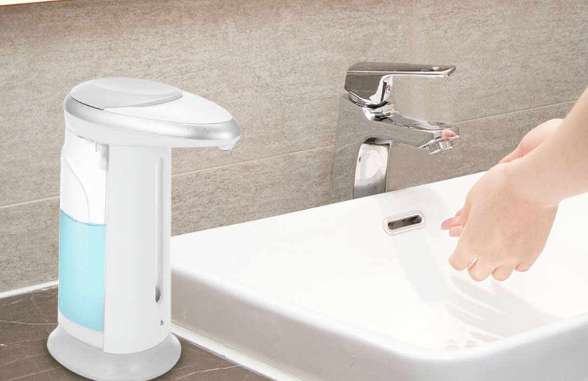 Automatic Soap Dispenser, $24.49Looking to test out if an automatic soap dispenser is right for you and your family? This Automatic Soap Dispenser can be yours for just under $25. It has a large capacity that can be used for alcohol, hand sanitizer, or foaming hand soap.