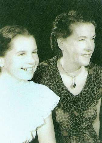 Nina Johnson and her mother, Florence Thomas in an undated photo. Florence Thomas is Jackie June King Shea's birth mother and Nina Johnson is Shea's half sister. Photo: Contributed Photo / Connecticut Post Contributed