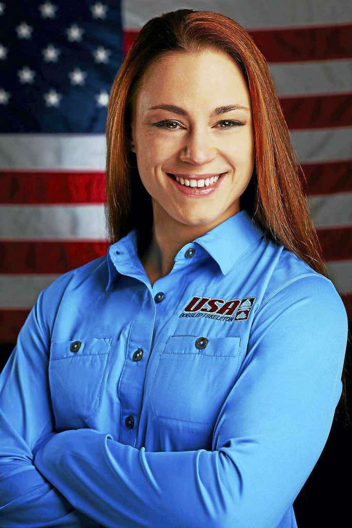 Megan Henry, of Roxbury, is feeling the impact of COVID-19 and her training as an Olympic hopeful in women's skeleton