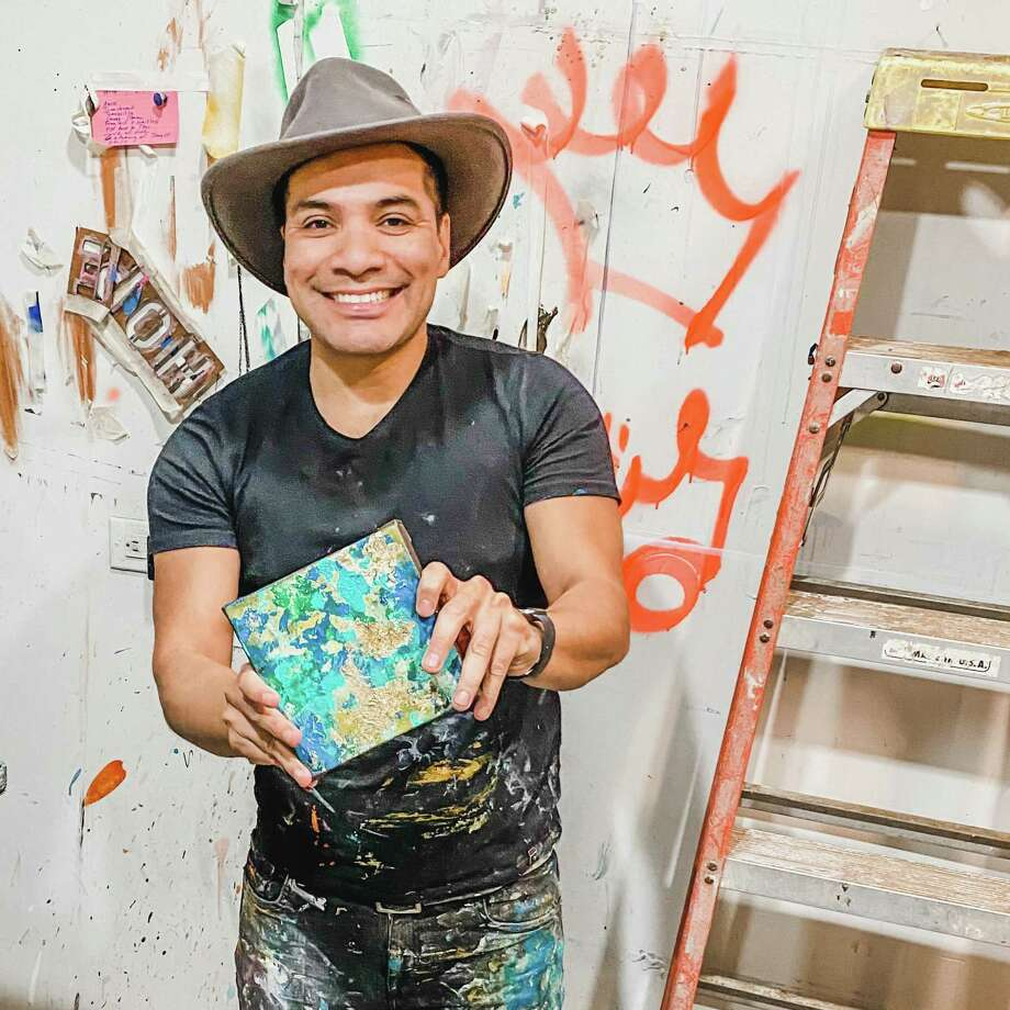 Houston artist Edgar Medina wants to Send Some Joy by selling custom artwork for people to give to their loved ones.