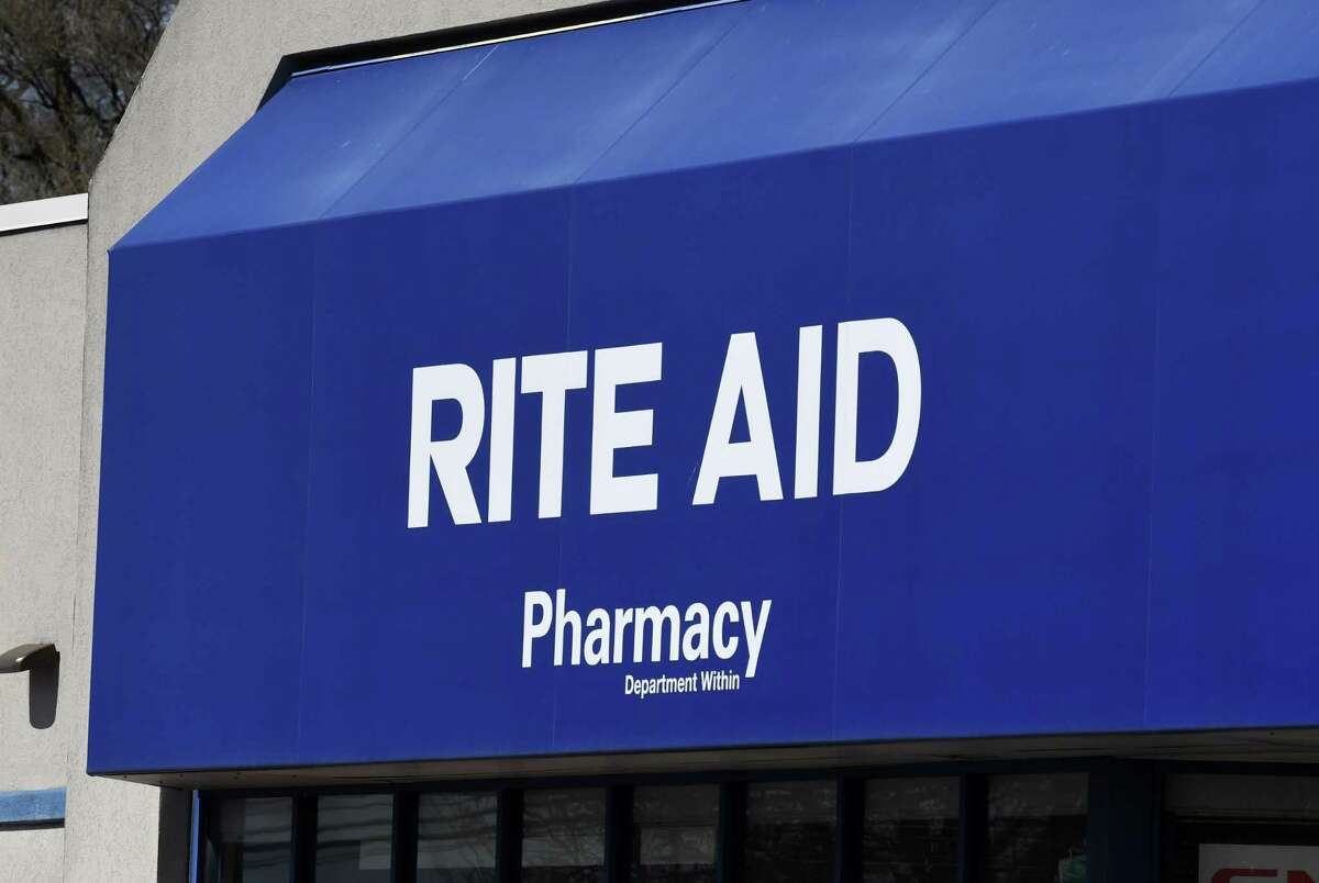 A drive-through coronavirus testing site is planned for this Rite Aid drugstore on Central Avenue at New Karner Road on Monday, April 20, 2020, in Colonie, N.Y. The test site is scheduled to open on Wednesday, and remain open seven days a week for appointment-only testing from 9 a.m. to 5 p.m. (Will Waldron/Times Union)