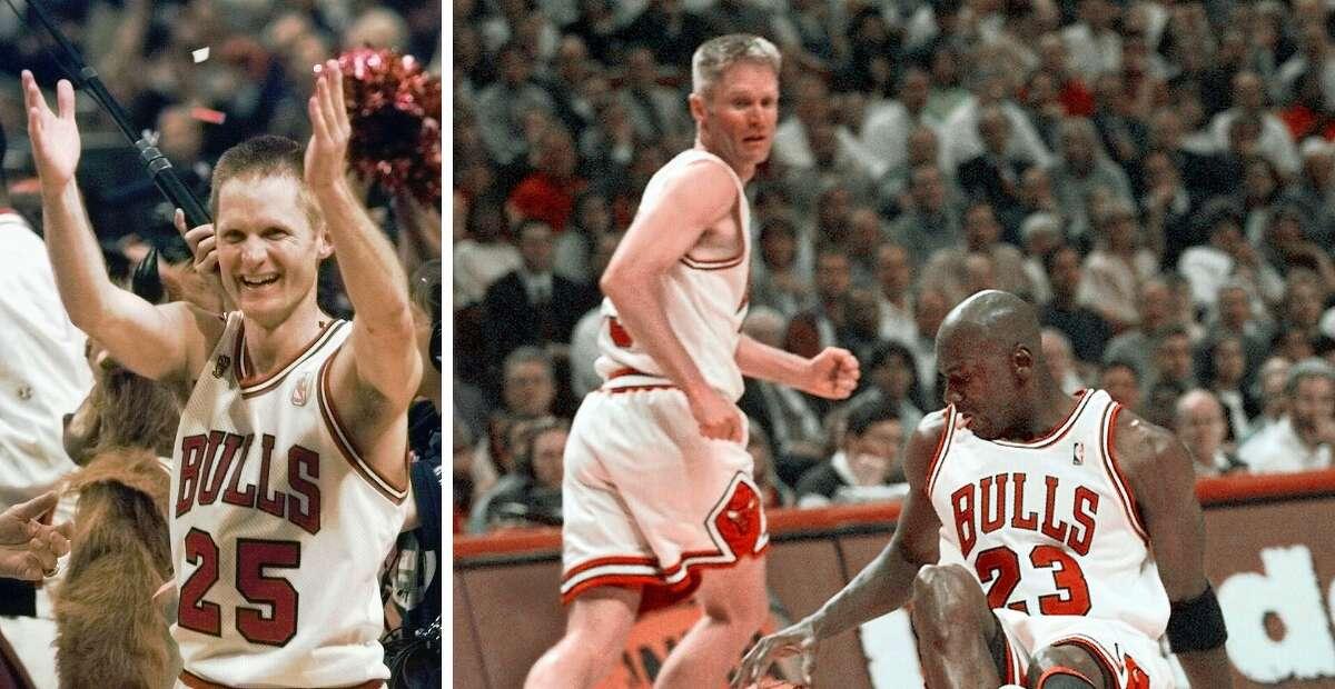 Steve Kerr was a part of the Chicago Bulls' 1997 NBA championship team.