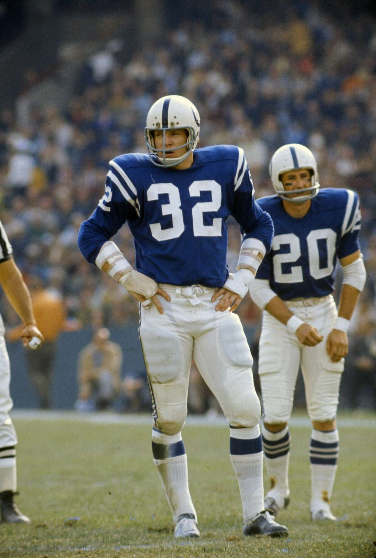 Curtis, who played 14 seasons in the NFL in the 1960's and 70's, was one of the hardest-hitting linebackers of his era.