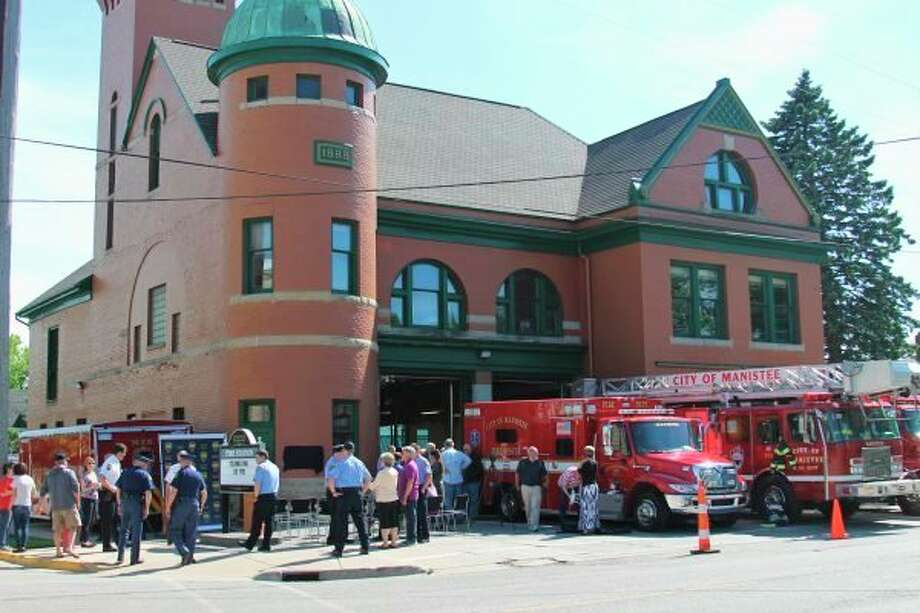 The Manistee Fire Hall is the oldest continuously active station in the world and can be visited virtually with the Manistee Historic Sites Tours, which were developed by the Manistee County Visitors Bureau with close collaboration from the Manistee County Historical Museum. (News Advocate file photo)
