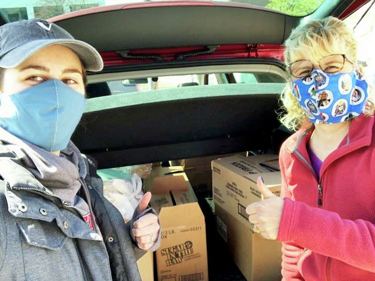 Vox Church has two teams of volunteers helping out the homebound during the coronavirus pandemic. As of Friday afternoon, more than 80 deliveries were made.