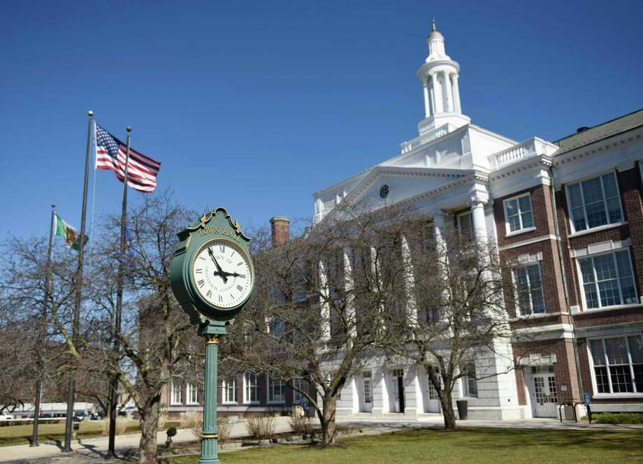 The framework of a town budget for next year is in place but the actual numbers are still months away. Photo: Tyler Sizemore / Hearst Connecticut Media / Greenwich Time