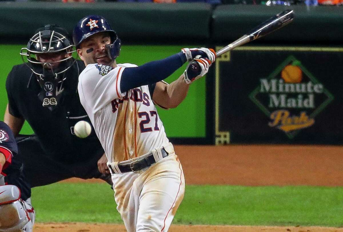 Jose Altuve has averaged 188 hits in the eight seasons since he was a rookie, a feat he needs almost to duplicate to reach 3,000 for his career.