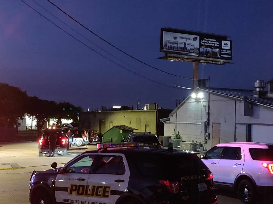 A woman, in her early 20s, was shot at about 7:30 p.m. in the 8100 block of Broadway Street Monday April 20, 2020, San Antonio Police said. Photo: Jacob Beltran