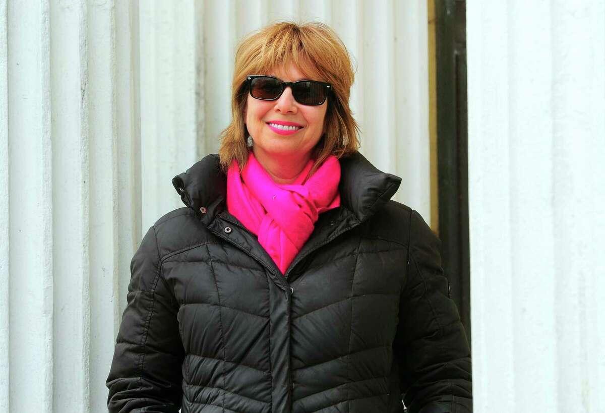 Westport/Weston Probate Judge Lisa Wexler poses at Westport Town Hall in Westport, Conn., on Friday Apr. 17, 2020.