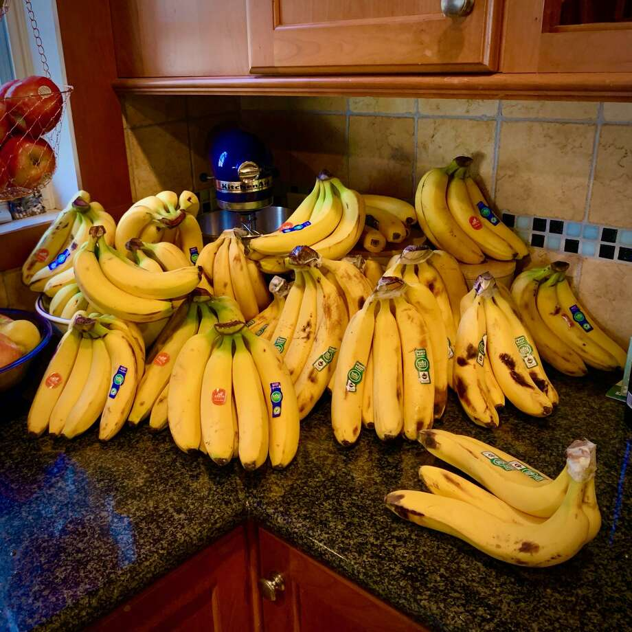 J. Gordon Wright of Evanston, Illinois, has 99+ banana problems but potassium ain't one. Photo: J. Gordon Wright