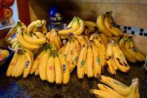 J. Gordon Wright of Evanston, Illinois, has 99+ banana problems but potassium ain't one.