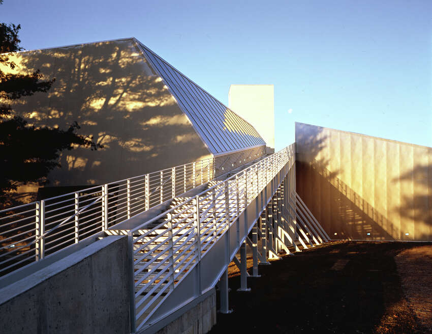 The Frances Young Tang Teaching Museum and Art Gallery at Skidmore College. Photo by Tim Hursley
