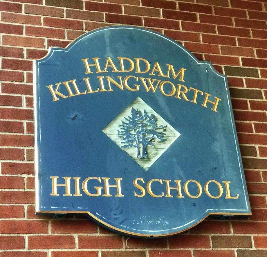 Haddam-Killingworth High School Photo: Cassandra Day / Hearst Connecticut Media