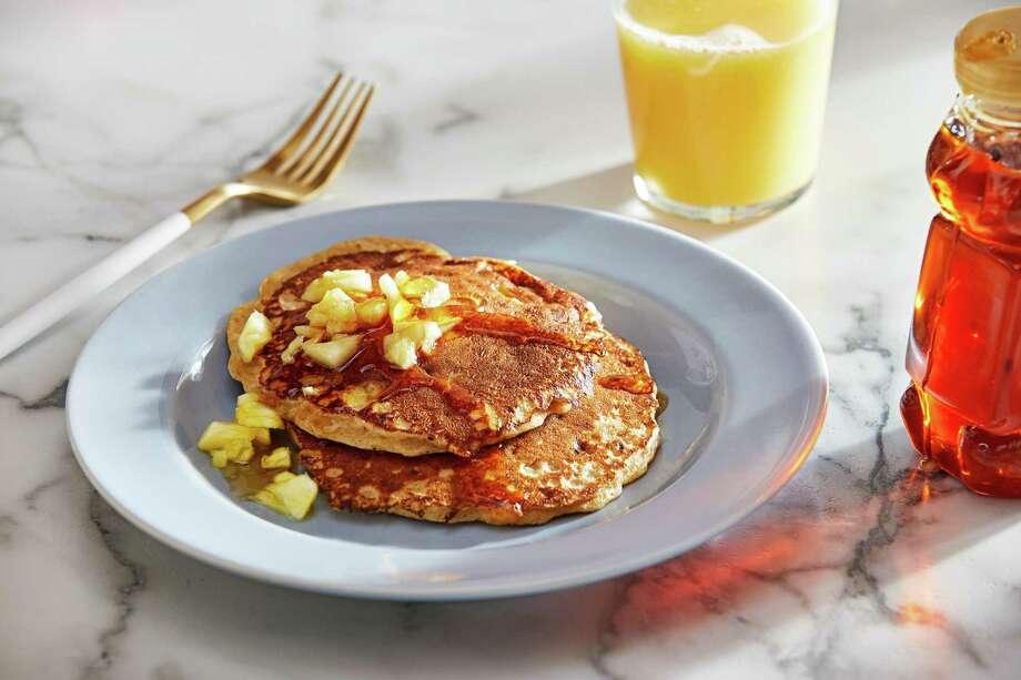 Pineapple Cottage Cheese Pancakes Photo: Tom McCorkle / For The Washington Post / For The Washington Post