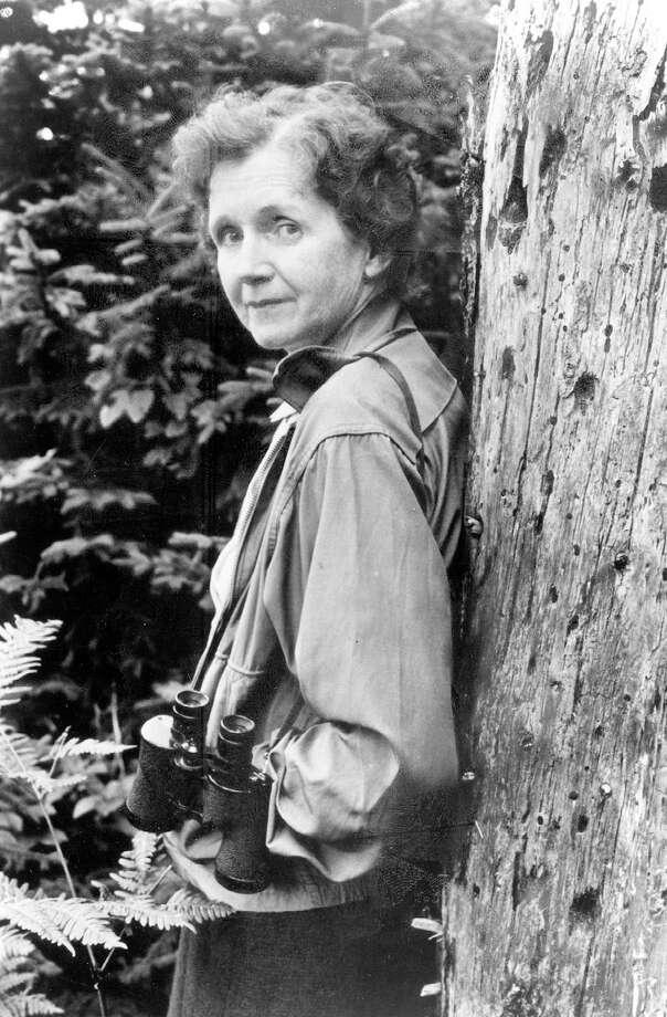 "Rachel Carson, author of ""Silent Spring."" Photo: File Photo / RACHEL CARSON COUNCIL"