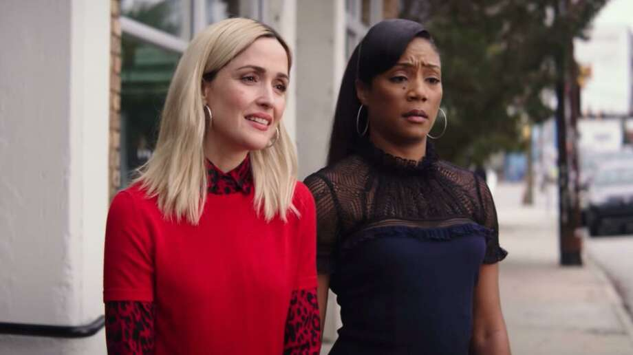 """Rose Byrne and Tiffany Haddish star in """"Like a Boss."""" Photo: Paramount Pictures"""