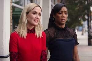 "Rose Byrne and Tiffany Haddish star in ""Like a Boss."""
