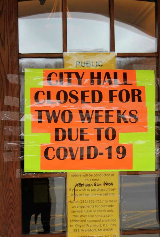 Frankfort City Hall has been closed due to a individual that visited on April 17 testing positive for COVID-19. (Photo/Colin Merry)