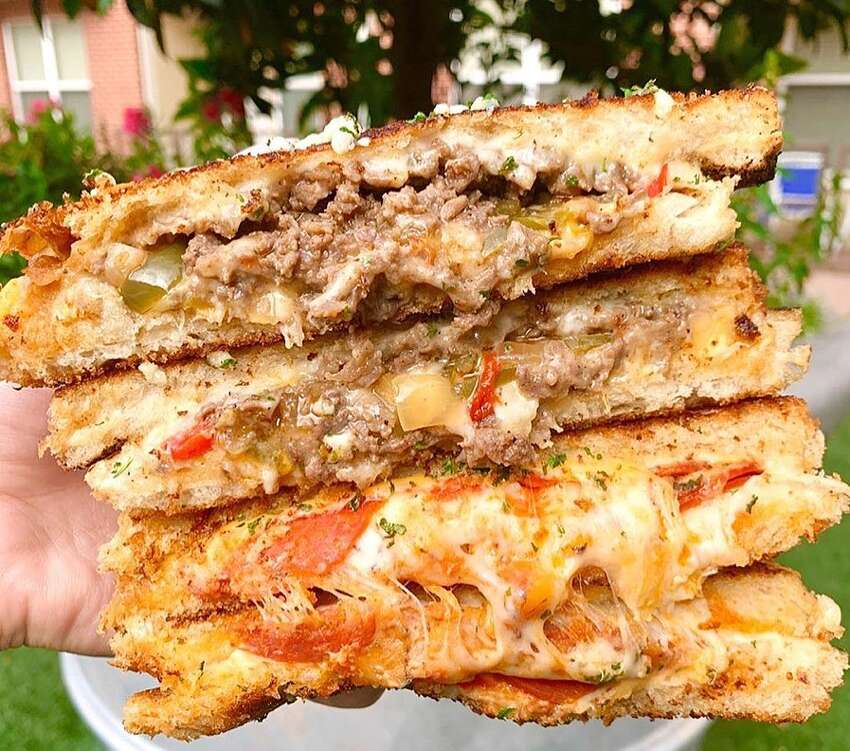 Twisted Grilled Cheese: It's a food truck, so you'll have to find them.