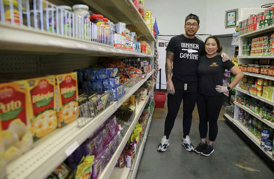 Adrian and Camille De Los Reyes are the owners of Sari Sari, a Filipino market, bakery and restaurant. Photo: Kin Man Hui /Staff Photographer / **MANDATORY CREDIT FOR PHOTOGRAPHER AND SAN ANTONIO EXPRESS-NEWS/NO SALES/MAGS OUT/ TV OUT