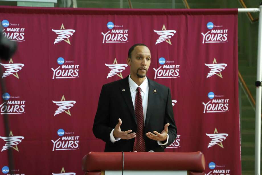 Texas A&M International named Rodney McConnell as its new head men's basketball coach on March 16. Photo: Photo By Derly Moreno