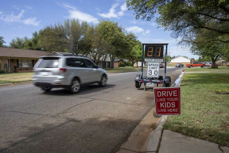 Traffic on Monday, April 20, 2020 in the 3200 block of Boyd Avenue. Jacy Lewis/Reporter-Telegram Photo: Jacy Lewis