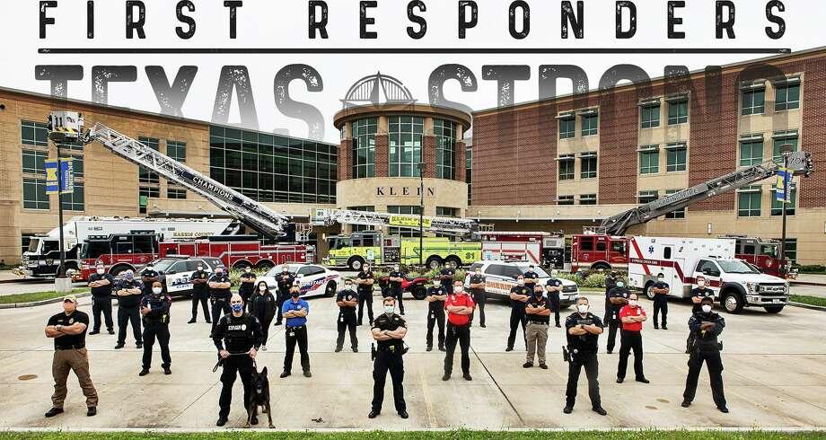 Photographer Bryan Anderson has photographed multiple first responder groups in the Houston-area, including Klein-area EMS and first responders. Photo: Provided By Rex Evans