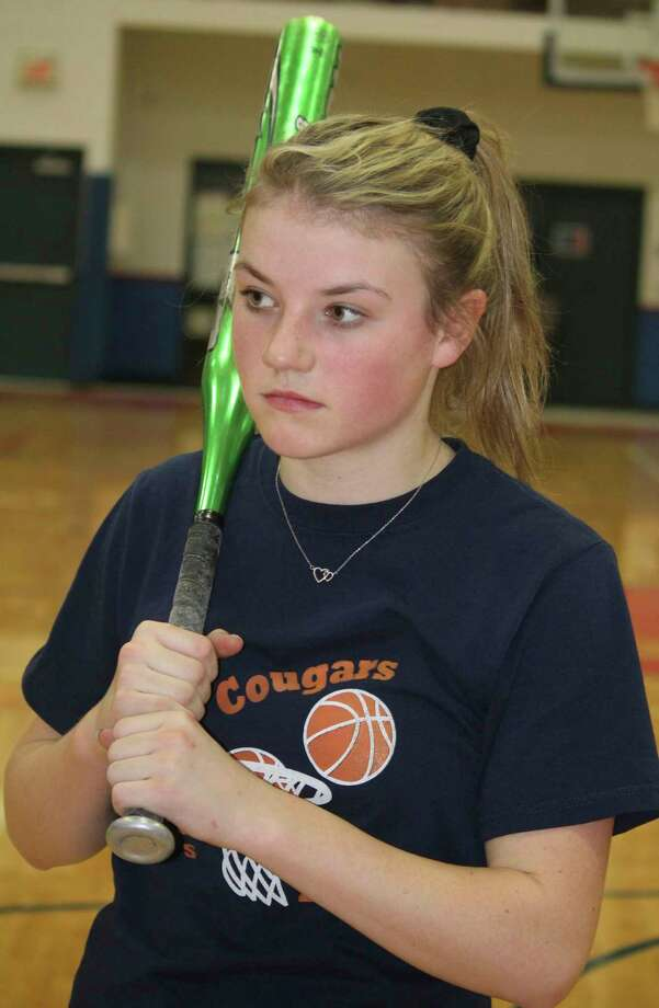 Crossroads' Maddie Alber said softball was her favorite sport. (Pioneer file photo)