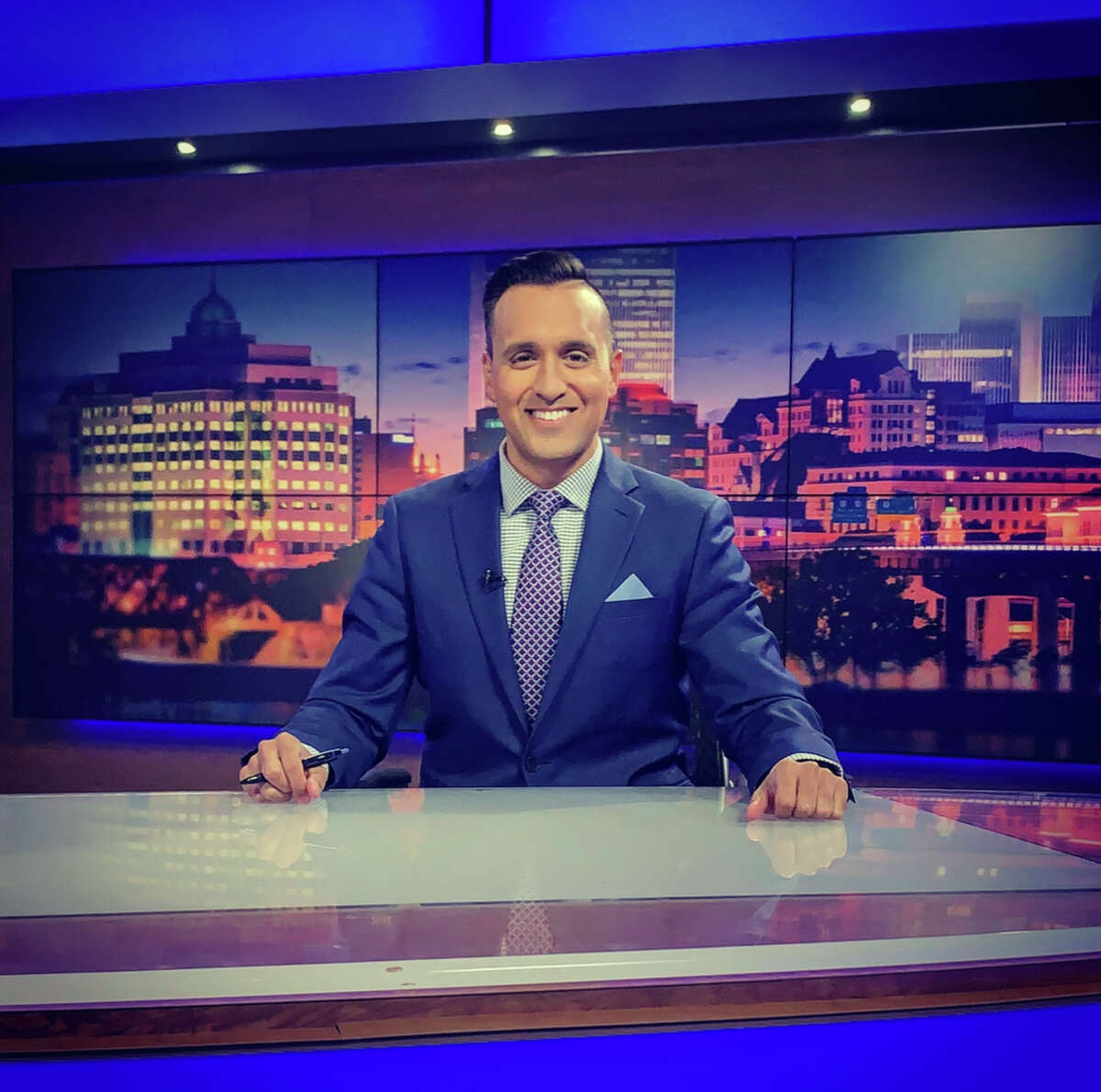 After more than a decade in local television news, Solomon Syed is leaving Spectrum News. His last day is September 3.