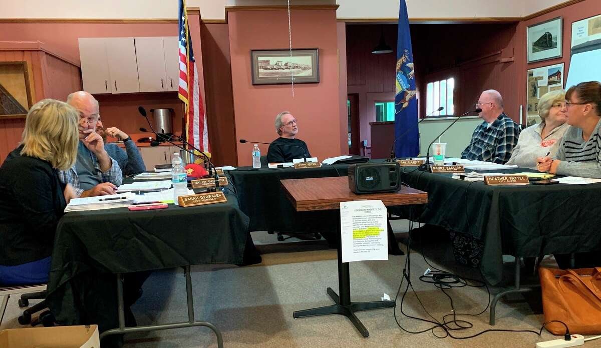 The Evart City Council held a virtual meeting on April 6,during which they passed resolutions pertaining to the coronavirus pandemic. (Herald Review file photo)
