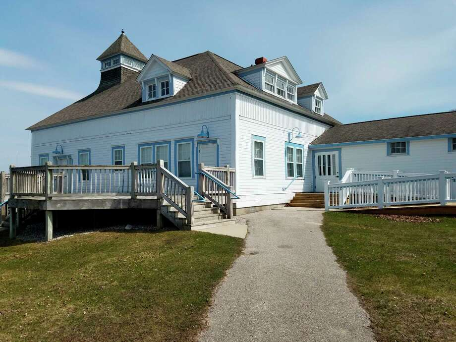The Elberta Life Saving Station is a hot spot for summer weddings, but several reservations have been canceled due to concerns about COVID-19. (Photo/Colin Merry)