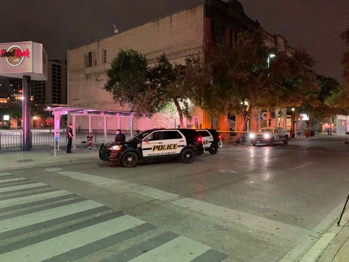 Police are searching for the person responsible for a stabbing on the River Walk on Tuesday.