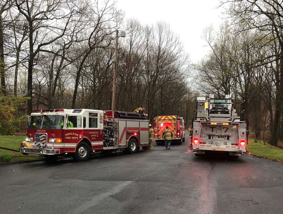 More than 20 firefighters responded to a structure fire at a Buck Hill Road home Tuesday, April 21.
