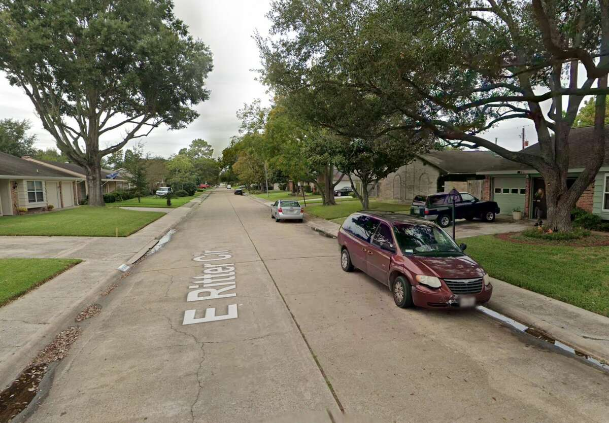 The 15100 block of East Ritter Circle is seen on Google Maps Street View in October 2018.