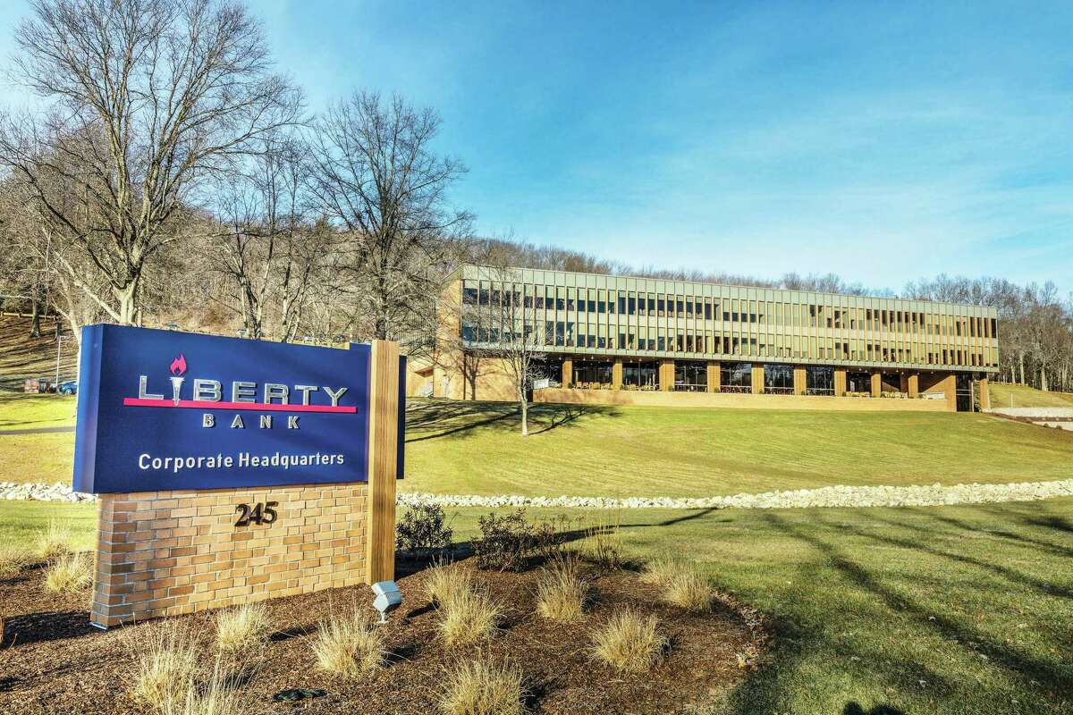 Liberty Bank's corporate offices are located at 245 Long Hill Road in Middletown.
