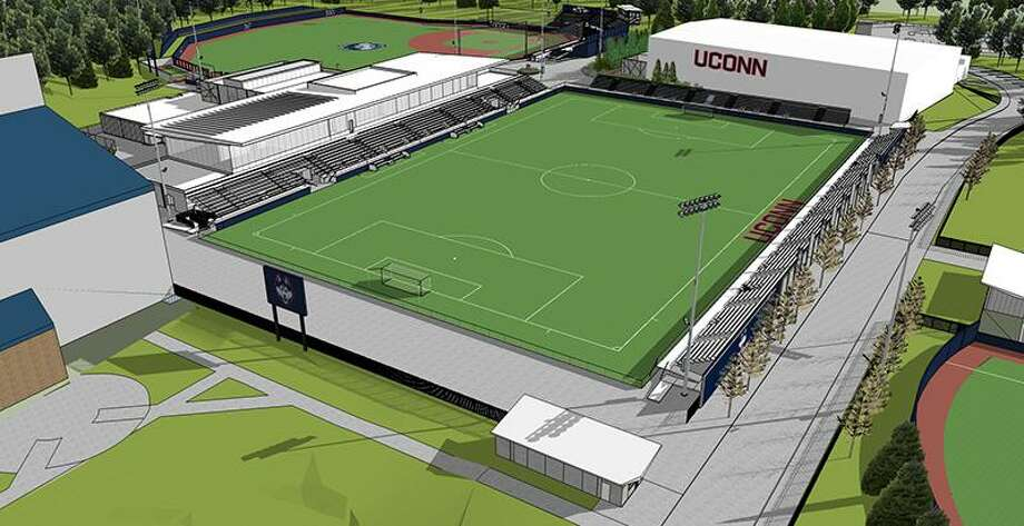 Render of the new UConn soccer stadium set to open in the Fall of 2020. Photo: UConn Athletics / Contributed Photo