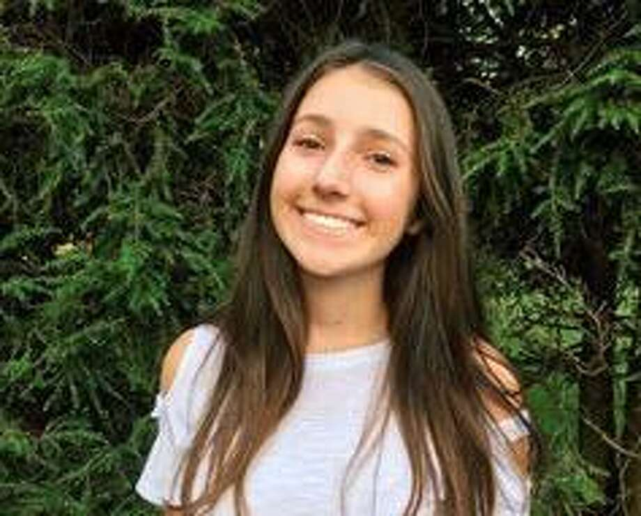 Westhill High School junior Talia Kunin founded a group called Westhill Angels recently. The group is raising funds for the healthcare workers at Stamford Hospital and is providing support to non-profit organizations in Stamford. Photo: Contributed Photo