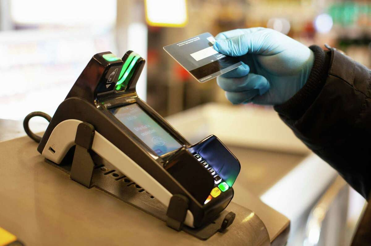 Paying for things is a dirty business - germwise. Who knows who has touched that grocery store payment terminal before you put your credit card in it?
