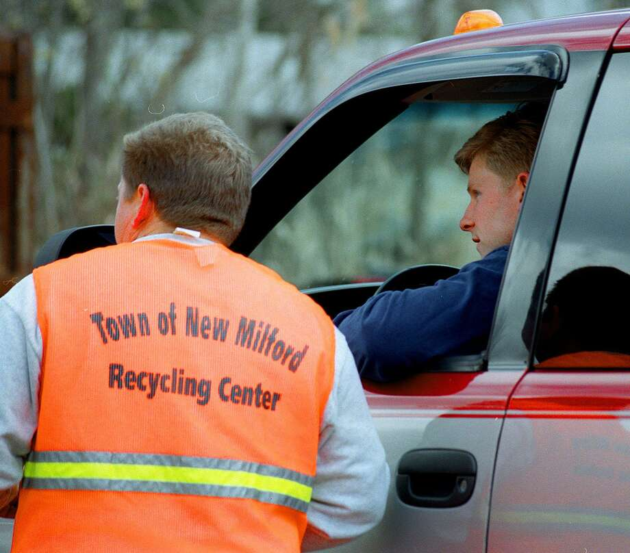 File photo of the New Milford Recycling Center Photo: File Photo / File Photo / The News-Times File Photo